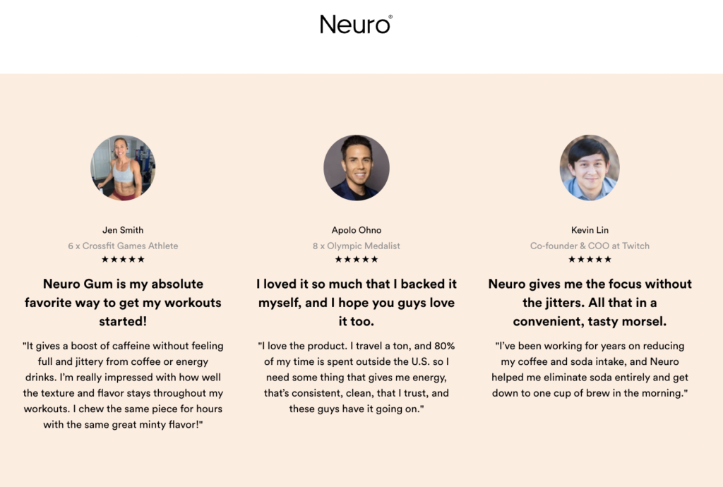 How to write the best subscription landing page - Neuro