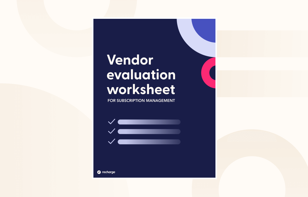Vendor Evaluation Thumbnail